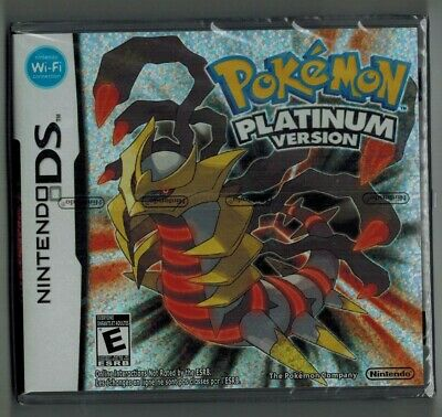 Pokemon Platinum *New & Sealed* Ds Lite 2Ds 3Ds Free & Fast Delivery Uk Seller