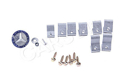 Genuine Mercedes Grille Repair Kit 190 A124 C124 S124 W124 2018800183