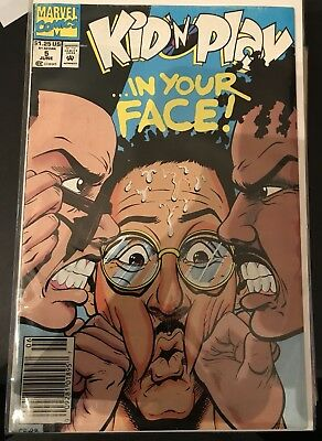 Kid N Play #5 (1992) Cnd: Vf - Marvel Comics