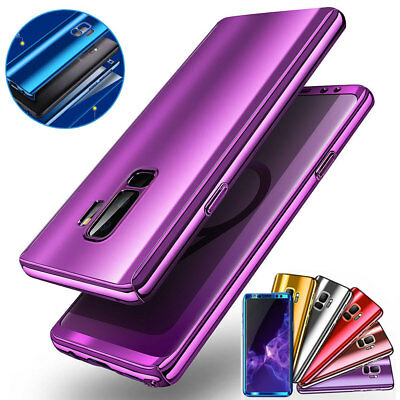 For Samsung Galaxy S9 S8 Plus S7 Edge 360°Shockproof Full Body Hybrid Case Cover