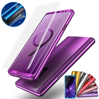 Hybrid Shockproof 360 Ultra thin Case Cover For Samsung Galaxy S8/S9 Plus S7Edge