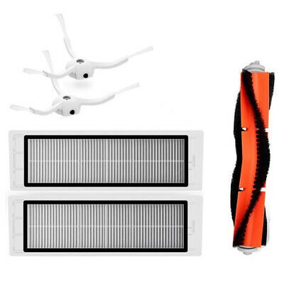 Original Main Brush+Filter+Side Brushes for XIAOMI Mi Robot Vacuum Cleaner