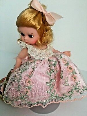 "Wendy Loves Her Sunday Best  by Madame Alexander Doll - 8"" Tall"