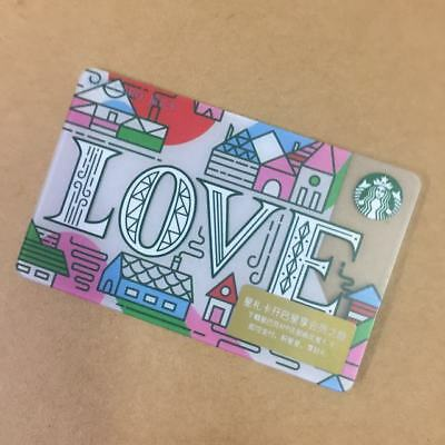 2018 New Starbucks Our Loving Cafe Gift Card Pin Intact