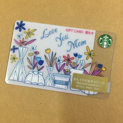 2018 New Starbucks China  Happy Mother's Day Gift Card Pin intact