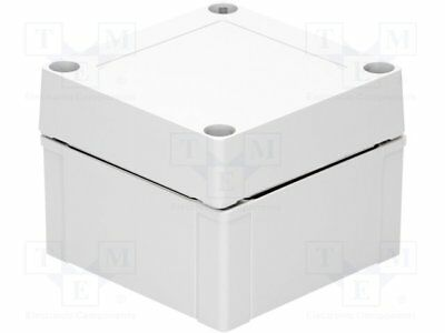Enclosure: multipurpose; X:100mm; Y:100mm; Z:75mm; MNX; ABS; grey (1pcs)