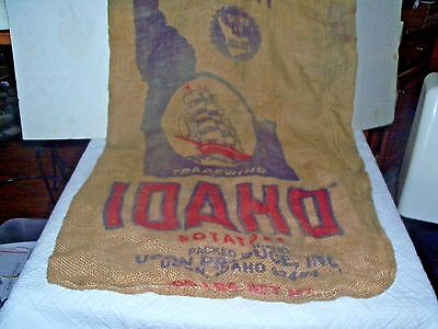 Vintage Idaho potato sack