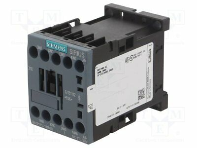 Contactor:4-pole; 24VDC; 10A; NC + NO x3; DIN, on panel; 3RH20 (1pcs)