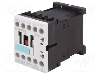 Contactor:4-pole; 230VAC; 6A; NC x2 + NO x2; DIN, on panel; 3RH10 (1pcs)