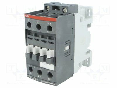Contactor:3-pole; 24÷60VAC; 20÷60VDC; 26A; NO x3; DIN, on panel; AF (1pcs)