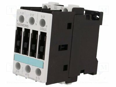 Contactor:3-pole; 230VAC; 25A; NO x3; DIN, on panel; 3RT10; Size: S0 (1pcs)