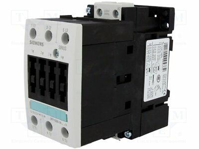 Contactor:3-pole; 230VAC; 50A; NO x3; DIN, on panel; 3RT10; Size: S2 (1pcs)