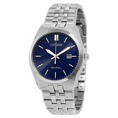 Citizen Corso Eco-Drive Blue Dial Stainless Steel Men's Watch BM7330-59L