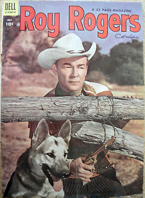 Vintage ROY ROGERS Comic Book- No. 79 July 1954