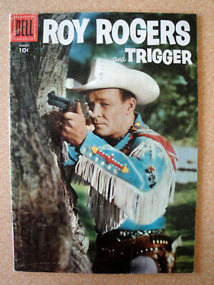 Vintage ROY ROGERS Trigger Comic Book No 104 August 1956