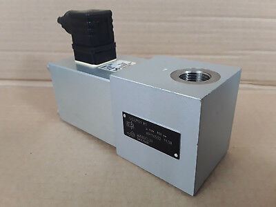 """Wandfluh In Line 1/2""""BSP Hydraulic Seated Directional Valve GS22101#1 24VDC #"""