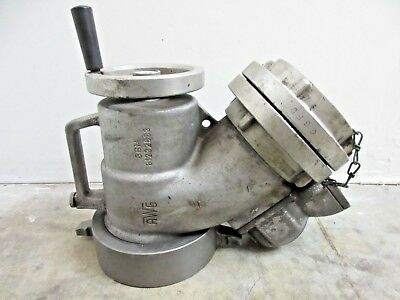 "AWG Firetruck Fire Fighter Piston Intake Relief Valve 5"" NH x 5"" STORZ"