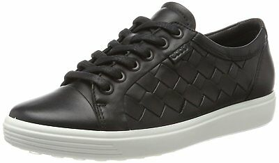 ECCO Womens Soft 7 Low Top Lace Up Fashion Sneakers