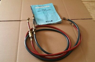 ( Hoses and instructions only) Alnor HM 650  Hydronic Manometer water meter