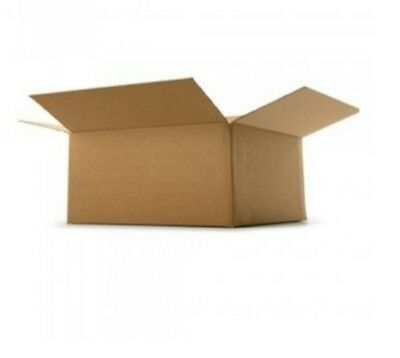 """Job Lot of 250 Small 7"""" x 6"""" x 4"""" Parcel Packaging  Postage Cardboard Boxes"""