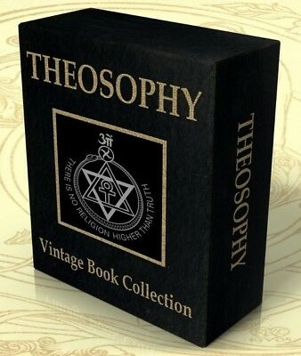 THEOSOPHY 249 Vintage Books on DVD ESOTERIC, OCCULT, THEOSOPHICAL, BLAVATSKY