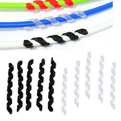 10pc/lot Bike Cycling Cable Housing Protector Line Sleeve Rubber Shift Brake