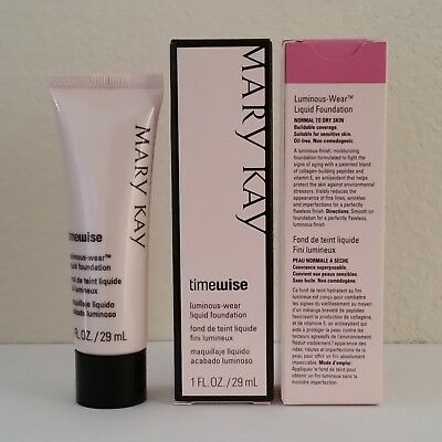 Mary Kay TimeWise Liquid Foundation Matte or Luminous Wear (In Box) Choose Shade