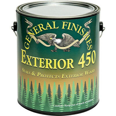 General Finishes Exterior 450 Water Based Topcoat, 1 Gallon, Gloss