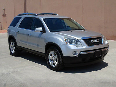 2008 GMC Acadia SLT 08 GMC ACADIA SLT 3.6L V6! ACCIDENT FREE! TEXAS OWNED! HEATED LEATHER SEATS!