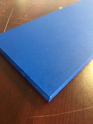 "3/4"" Thick Blue Starboard 12"" x 6"""
