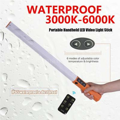 Handheld LED Video Ice Light Lamp Stick With Remote Control for Photography G9I3