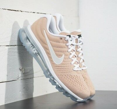 NIKE AIR MAX 2018 Beige Blanc FlyMesh Running Gym Trainers Homme Femme