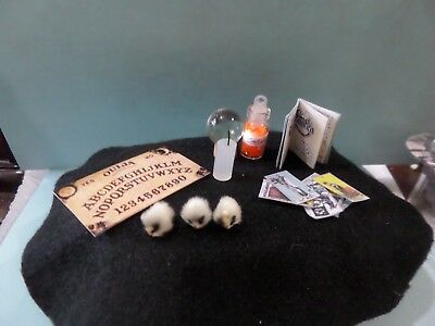 Everything your WITCH needs - dollhouse Miniatures 1:12 Loaded