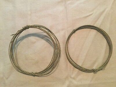 2 Original Civil War US Model 1840 or 1860 Cavalry Saber Grip Wires