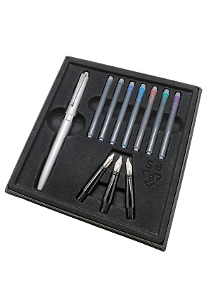 Calligraphy Fountain Pen Gift Set_CK-2591 with 3 different fountain pen nibs inc