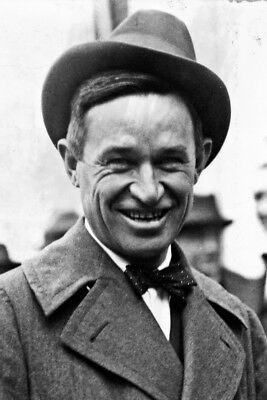 New 5x7 Photo: Film and Vaudeville Actor Will Rogers, Humorist and Cowboy