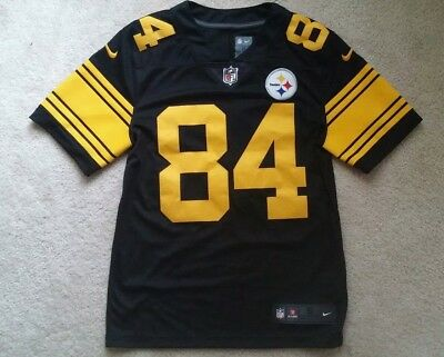 194589f5612 ANTONIO BROWN Pittsburgh STEELERS Nike COLOR RUSH Throwback LIMITED Jersey  Small