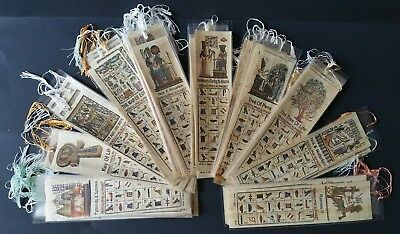 Egypt - Great Pyramids -  bookmarks with hieroglyphics - LOTS - Limited !!!!!!!