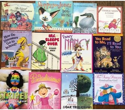 Lot 24 Scholastic Childrens Picture Story Books Classroom Library