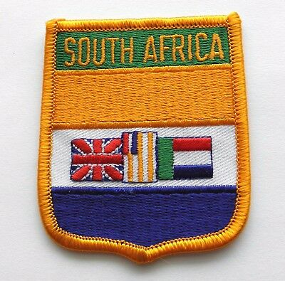South Africa African World Country Flag Embroidered Patch 2.5 X 3 Inches