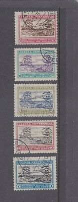 LIBERIA-CENTENNIAL ISSUE SET-100 YEARS FIRST LANDING-SG 285-9-F/USED-$7-freepost