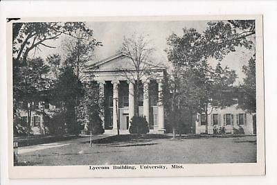 MS, Oxford - University of Mississippi, Lyceum Building - E10239