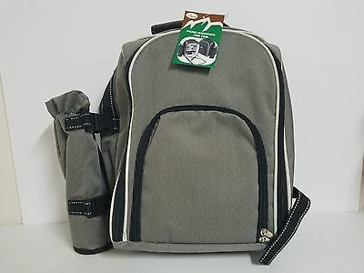 NEW Trailworthy Picnic Backpack for Two with Accessories