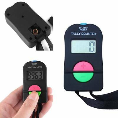 New Digital Tally Counter Electronic Manual Clicker Golf Gym Security Running