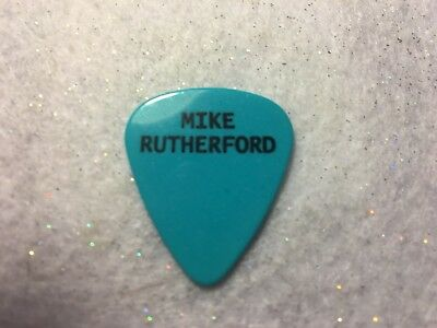 GUITAR PICK  Mike Rutherford - Mike & the Mechanics tour issue pick - No lot   A