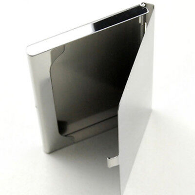 Stainless Steel Card Case Metal Business Card Case 1 Pcs Advertising Promotion