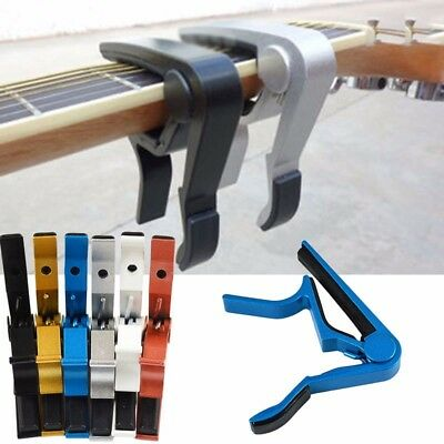 Tune Quick Change Clamp Guitar Capo for Ukulele Acoustic Guitar Accessories