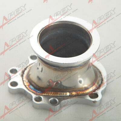 """T25 T28 GT25 GT28  To 2.5"""" 63mm V-band Clamp Flange Turbo Down Pipe Adapter AU"""