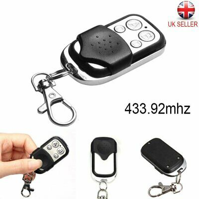 Universal Cloning Remote Control Key Fob for Car Garage Door Electric Gate New