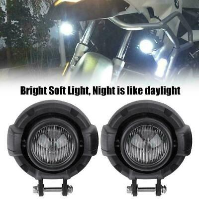2x Motorcycle LED Fog Light Driving Lamp for BMW F800GS R1200GS ADV 2012-2017 BT